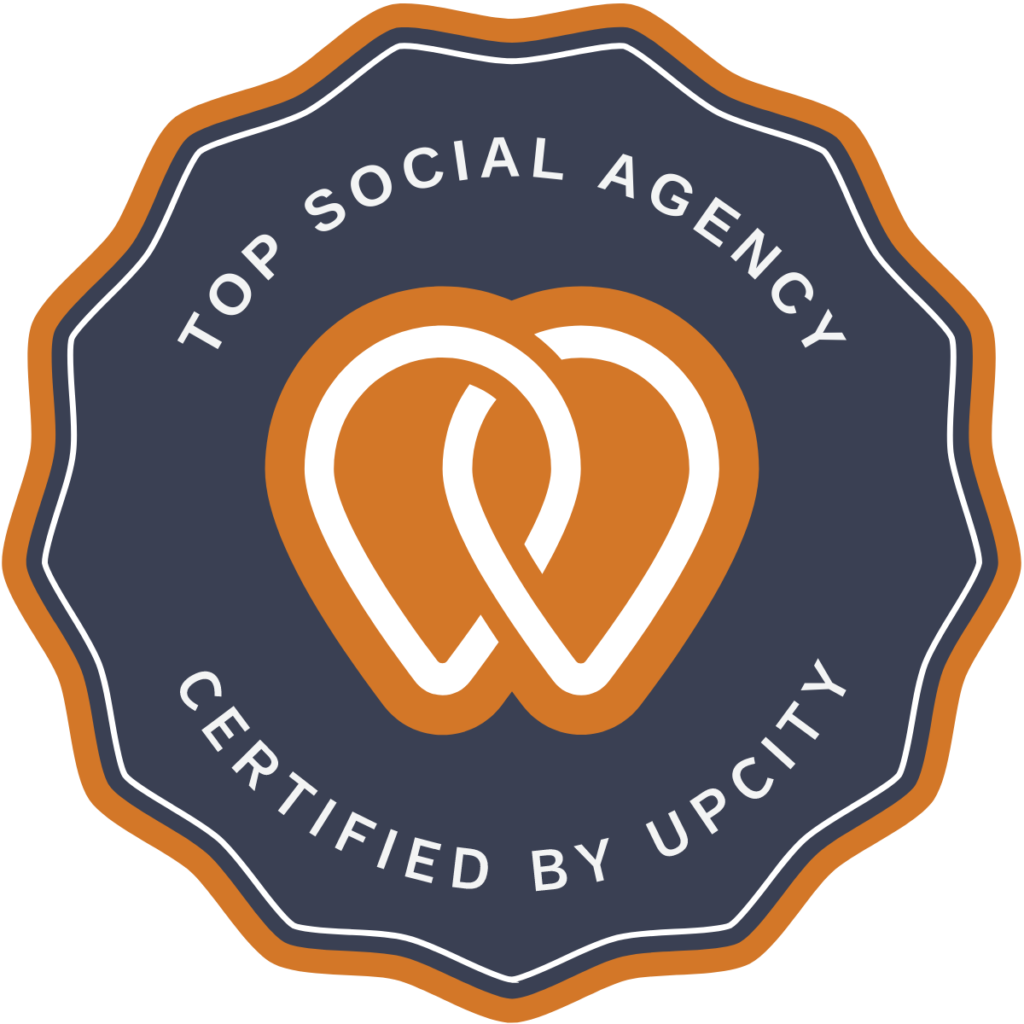 Top Social Agency Certified By Upcity