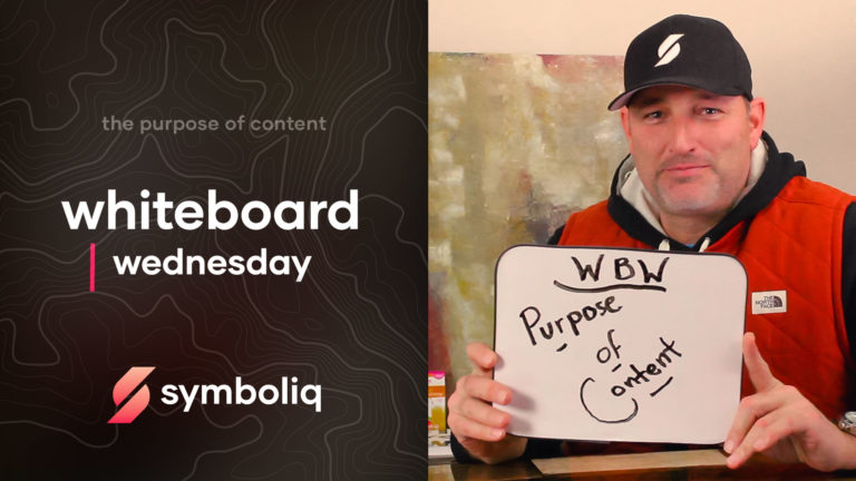 Whiteboard Wednesday Purpose of Content