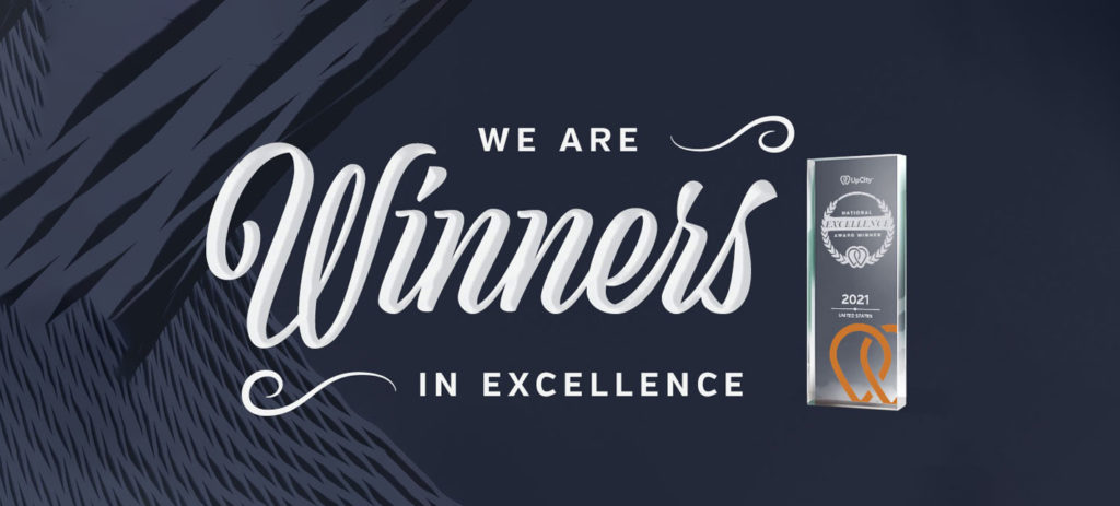 Symboliq Announced as a 2021 Local Excellence Award Winner by UpCity!