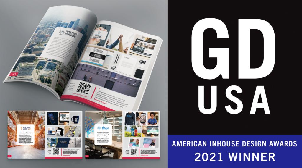 Symboliq Media Wins 2021 Graphic Design USA American Inhouse Design Award